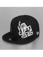 New Era Gorra plana C-Note LA Dodgers 59Fifty negro