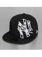 New Era Gorra plana C-Note Insider NY Yankees 59Fifty negro