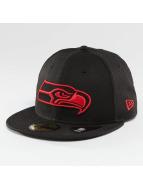 New Era Gorra plana Seattle Seahawks 59Fifty negro