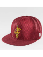 New Era Gorra plana NBA 17 On Court Cleveland Cavaliers rojo