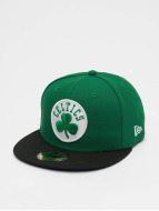 New Era Gorra plana NBA Basic Boston Celtics 59Fifty verde