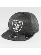 New Era Jersey Tech Oakland Raiders 9Fifty Snapback Cap Graphite/Optic White