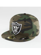 New Era Hip hop -lippikset Oakland Raiders camouflage