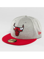 New Era Hip hop -lippikset Team Jersey Crown Chicago Bulls 59Fifty harmaa
