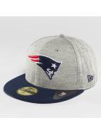 New Era Hip hop -lippikset Team Jersey Crown New England Patriots harmaa