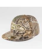 New Era Hip hop -lippikset Seattle Seahawks 59Fifty kirjava