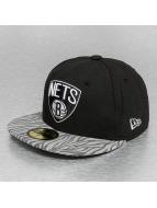 New Era Hip hop -lippikset NBA Tonal Zebra musta