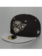 New Era Hip hop -lippikset Team Classic LA Kings musta