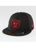 New Era Hip hop -lippikset Oakland Raiders 59Fifty musta