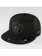 New Era Hip hop -lippikset Black Graphite Oakland Raiders 59Fifty musta