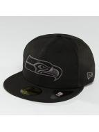 New Era Hip hop -lippikset Black Graphite Seattle Seahawks 59Fifty musta