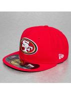 New Era Hip hop -lippikset NFL On Field San Francisco 49ers 59Fifty Game punainen