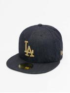 New Era Hip hop -lippikset Denim Quilt LA Dodgers sininen