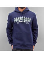 New Era Hoody Team Wordmark Seattle Seahawks blau