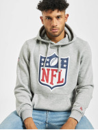 New Era Hoody Team Logo grau