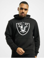 New Era Hupparit Team Logo Oakland Raiders musta