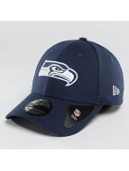 New Era Lastebilsjåfør- / flexfitted caps Team Essential Stretch Seattle Seahawks blå