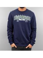 New Era Pullover NFL Team Seattle Seahawks blau