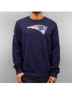 New Era Pullover Team Logo New England Patriots bleu