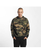 New Era Essential Raglan Sweatshirt Woodland Camouflage