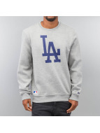 New Era Pullover LA Dodgers grau