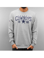 New Era Pullover NFLTeam Dallas Cowboys grau