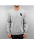 New Era Pullover MLB NY Yankees grau