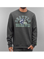 New Era Pullover NFL College Seattle Seahawks grau