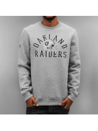 New Era Pullover NFL College Oakland Raiders grau