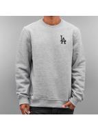 New Era Pullover MLB LA Dodgers grau