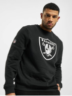 New Era Pullover Team Logo Oakland Raiders noir