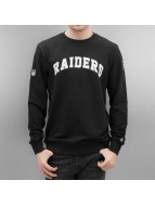 New Era Pullover Team Apparel Oakland Raiders noir