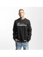 New Era Pullover Oakland Raiders schwarz
