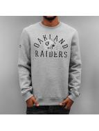 New Era Pulóvre NFL College Oakland Raiders šedá