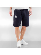 New Era shorts Team Apparel blauw