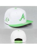 New Era Snapback White Pop Atlanta Braves blanc