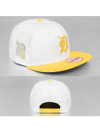 New Era Snapback White Pop Detroit Tiger blanc