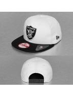 New Era Snapback Jersey Team Oakland Raiders blanc