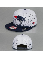 New Era Snapback Splatter New England Patriots 9Fifty blanc