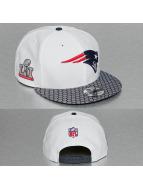 New Era Snapback Super Bowl LI Opening Night New England Patriots 9Fifty blanc