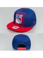 New Era Snapback Over Flock NHL NY Rangers bleu