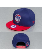 New Era Snapback Edge Flare Chicago Cubs bleu