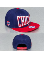 New Era Snapback Text Slant Chicago Cubs bleu