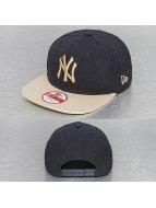 New Era Snapback Hex NY Yankees Snapback Cap bleu