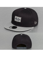 New Era Snapback Contrast Heather Patch 9Fifty bleu