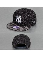 New Era Snapback Camo Paint Spot Kids New York Yankees bleu