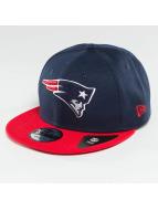 New Era Snapback New England Patriots bleu