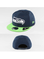 New Era Snapback Seattle Seahawks bleu