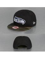 New Era Snapback Cap Emea Seattle Seahawks black