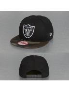 New Era Snapback Cap Emea Oakland Raiders black